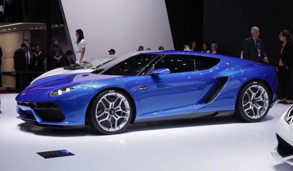 Lamborghini Asterion au Mondial de l'Automobile 2014 à Paris