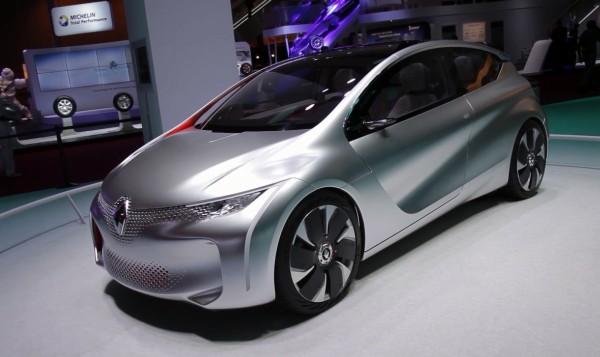 Concept-car Renault Eolab au Mondial de l'Automobile 2014 à Paris